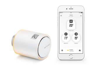 Flere intelligente termostatventiler